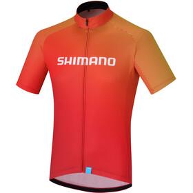 Shimano Team Fietsshirt korte mouwen Heren rood